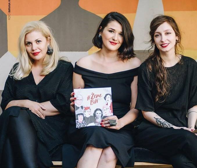 Boken #zenebih handlar om känska bosniska kvinnor och är skriven av